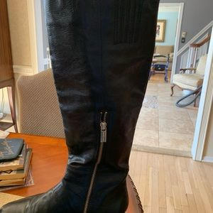 Michael Kors Shoes - Michael Kors Ailee Flat Studded Knee Boots